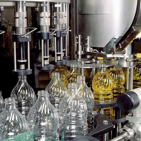 Abfüllung von Flüssigkeiten in der Lebensmittelindustrie