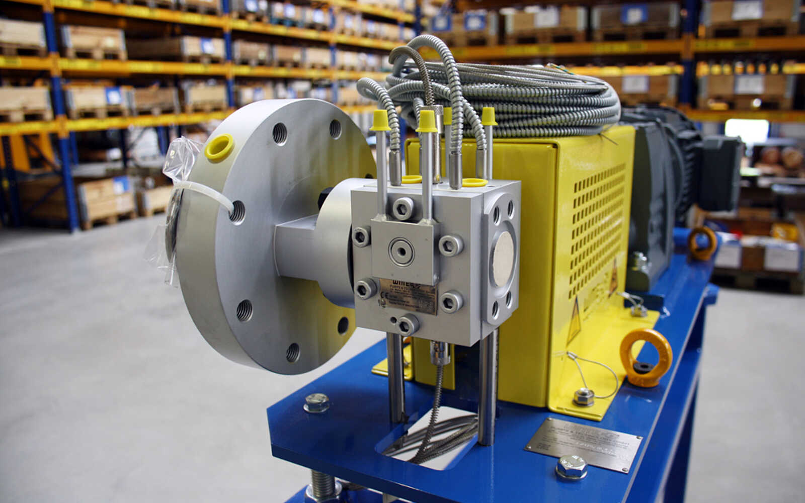 Melt pump for the production of 3D printing HDPE filament