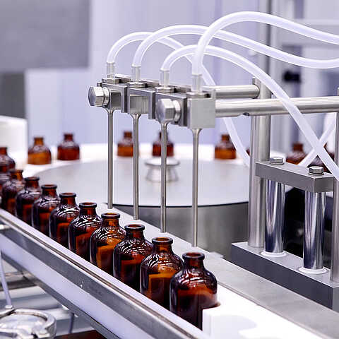 Abfüllung und Dosierung in der Pharmaindustrie